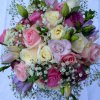 W114 - Rose, Lisianthus, Freesia and Gypsophila
